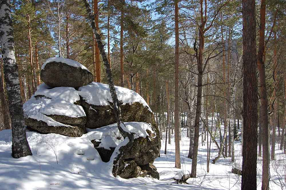 белокуриха алтай осень снег ноябрь