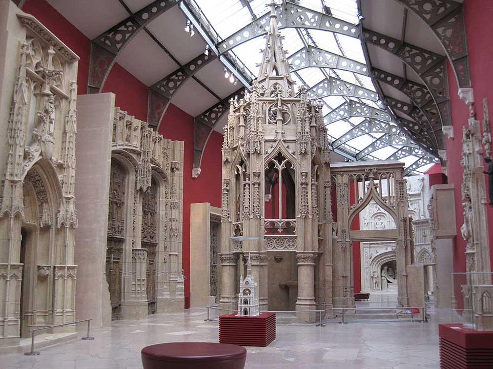 музей архитектуры париж