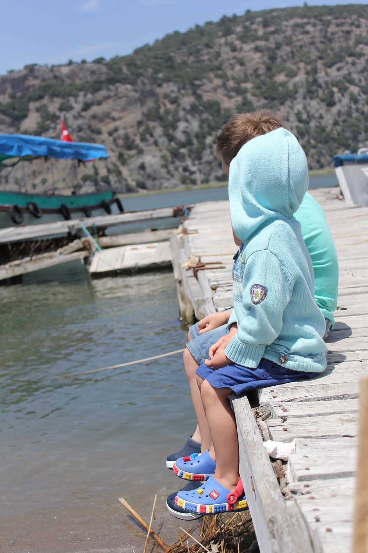 турция дети пирс море