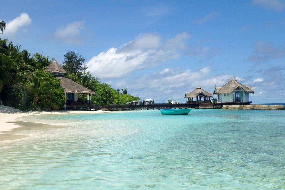 мальдивы пляж остров