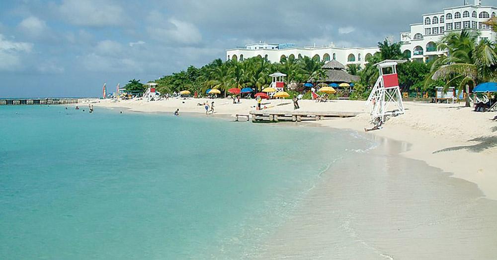 ямайка монтего-бей отель пляж