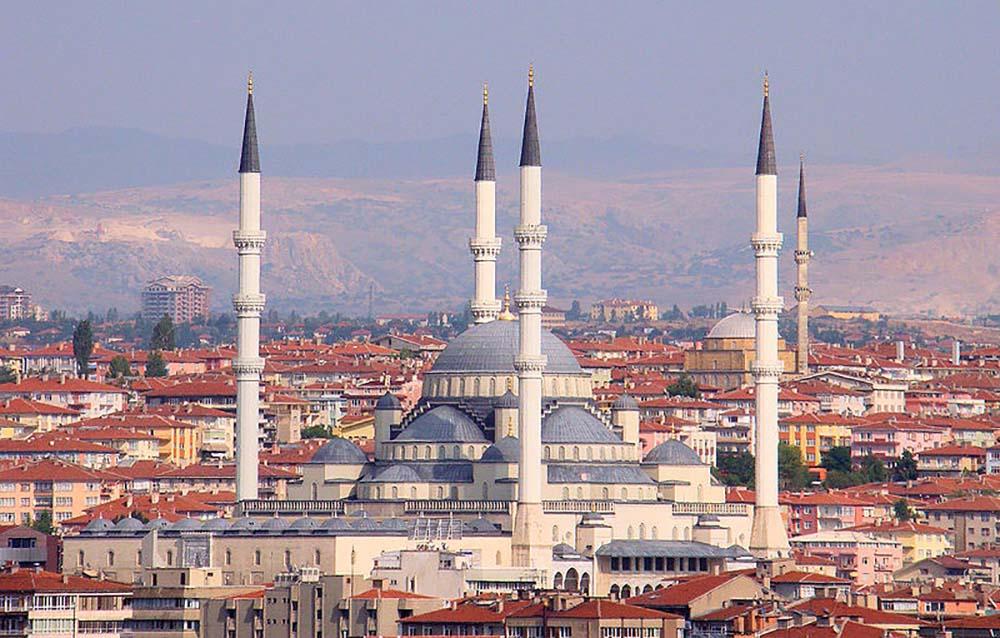 турция анкара мечеть