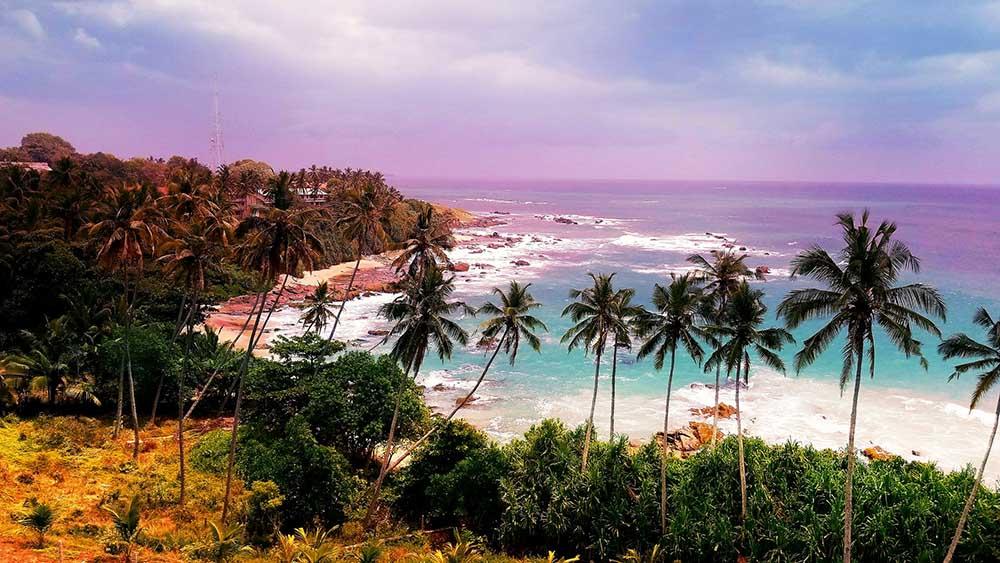 шри-ланка пляж море