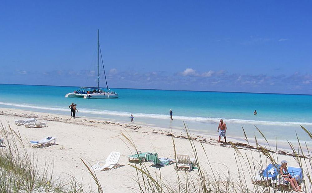 плайя пилар катамаран пляж куба