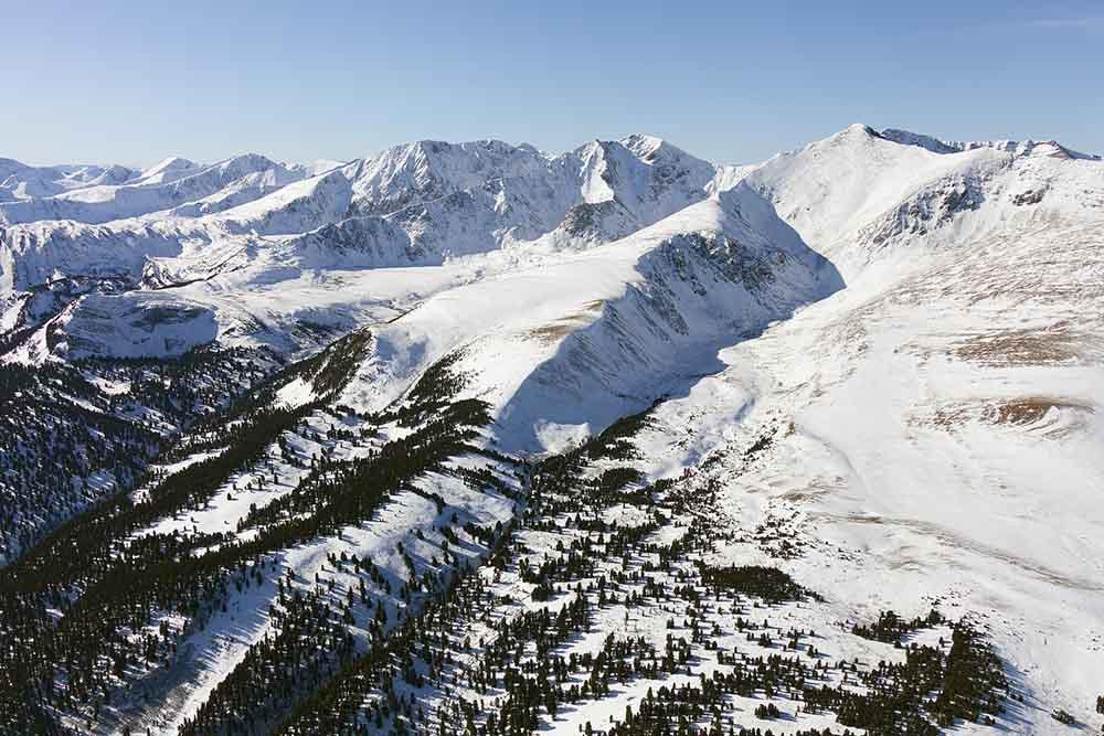 алтай горы снег зима
