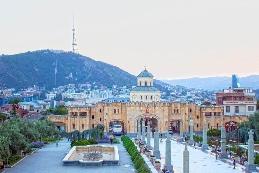 грузия тбилисси церковь