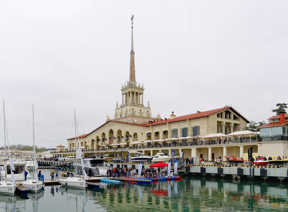 сочи морской вокзал черное море краснодар