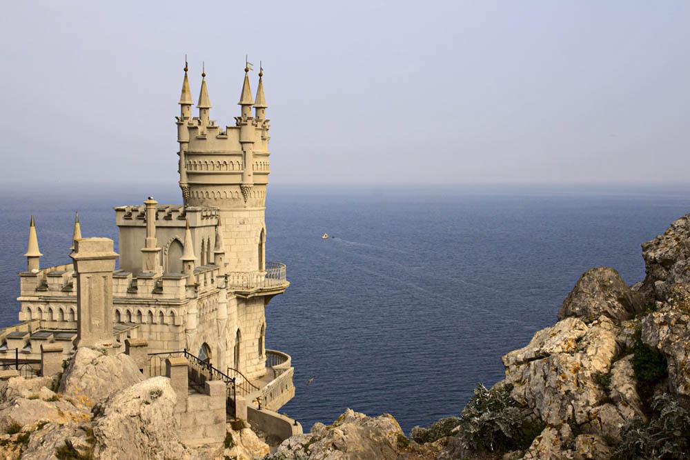 ласточкино гнездо крым море