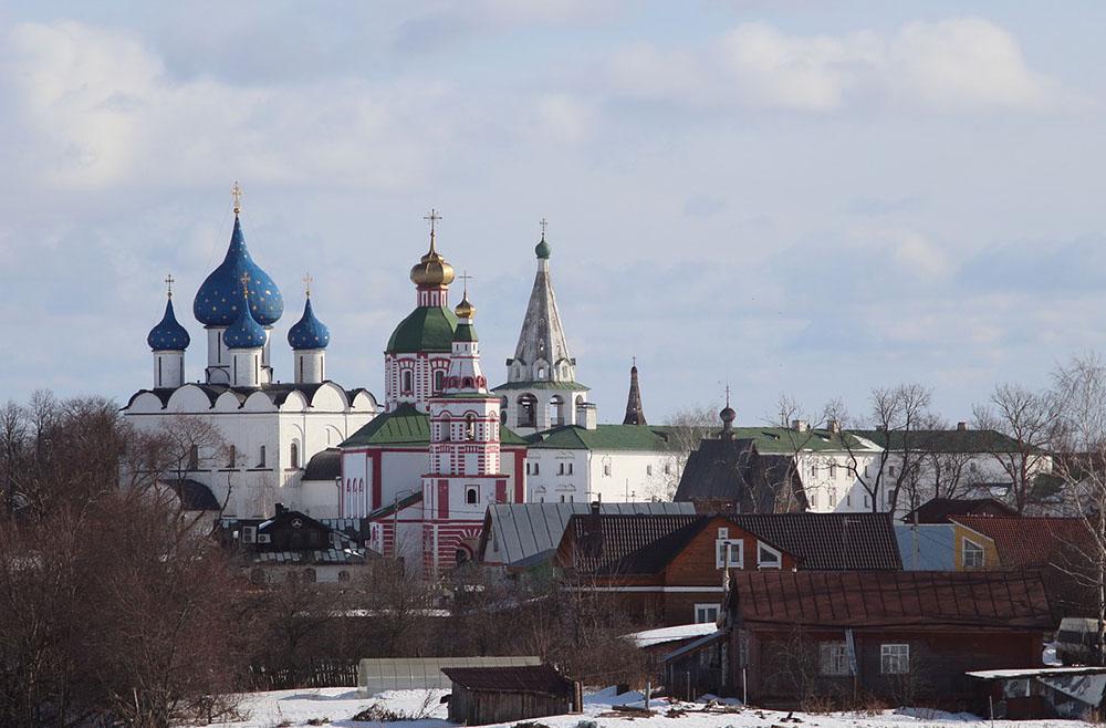 суздаль церковь рождественский собор
