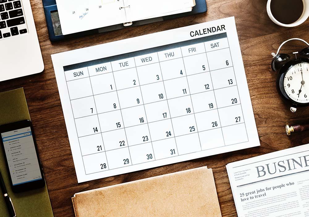календарь планирование работа выходной отпуск