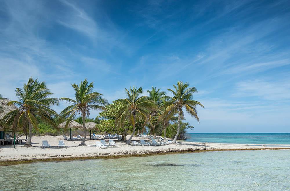 куба тринидад пляж море