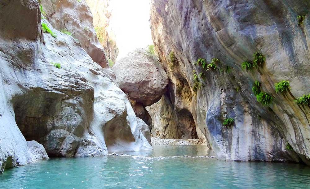 гейнюк каньон река скалы