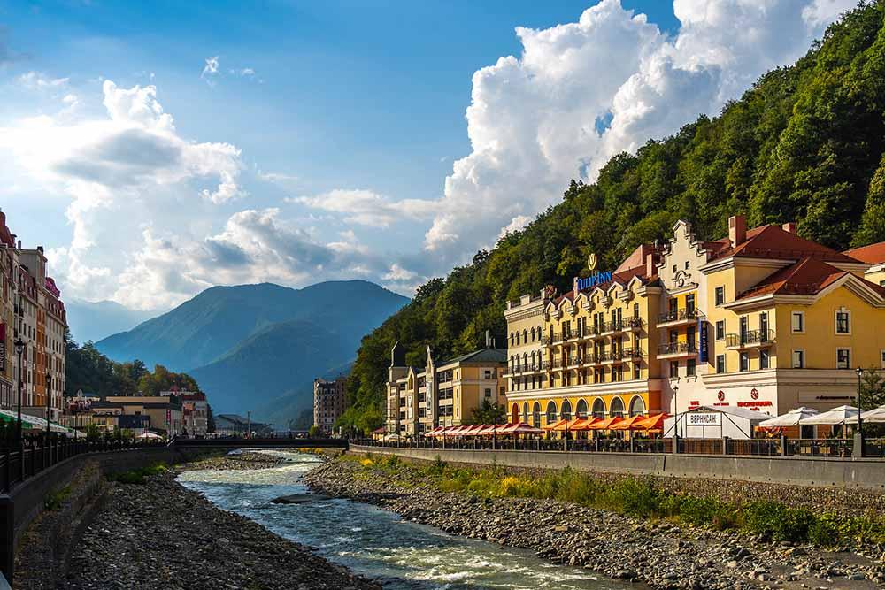 сочи горы курорт отель гостиница роза хутор