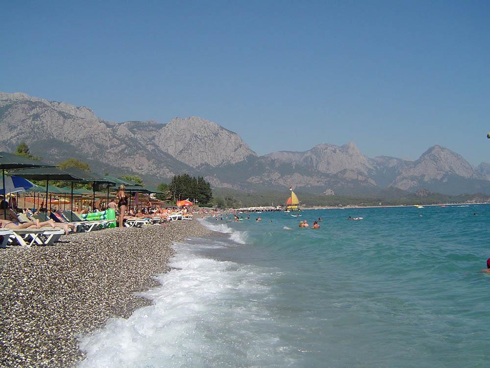 пляж галька отдых море