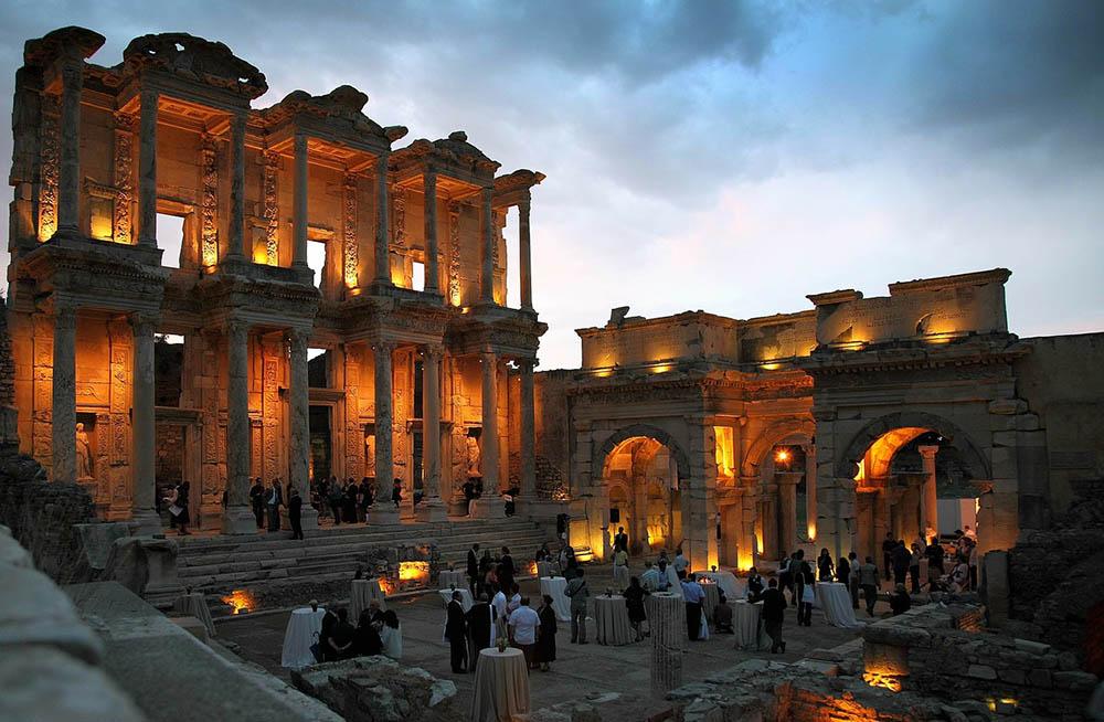 амфитеатр, развалины, история, архитектура, руины, эфес, здание