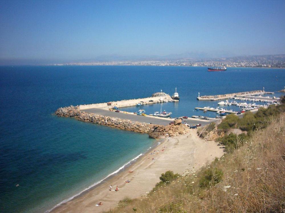 Пляжи Ираклиона - на карте, путеводитель и фотографии с названием ... | 750x1000