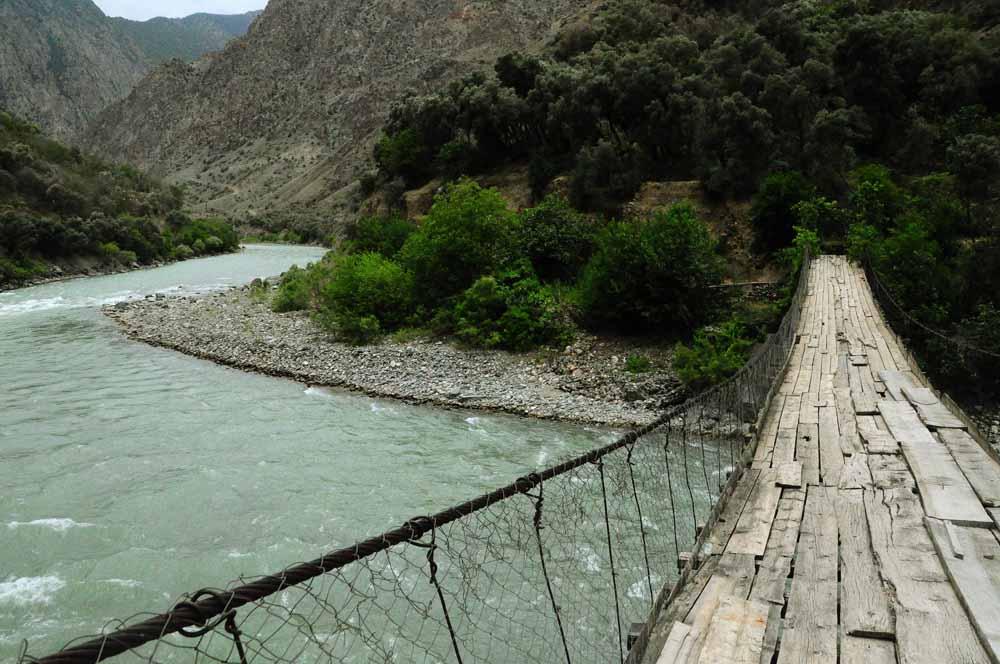 Долина реки Чорух